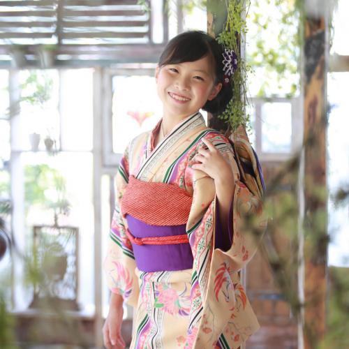 ハーフ成人式(10歳記念)女の子